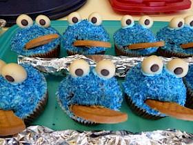 Lustige Muffins