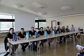 Beim BOGY-Tag am Hebel-Gymnasium erhielten die Schüler/innen der Jahrgangsstufe 1 viele Tipps .