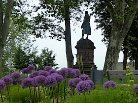Das Schillerdenkmal auf der Schillerhöhe