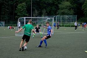 """Beim ersten """"SMV Sportcup"""" wurden Fußball und Völkerball gespielt."""