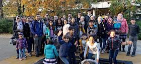 Die Soli-AG des Hebel-Gymnasiums lud Kinder aus Flüchtlingsfamilien in den Heidelberger Zoo ein.